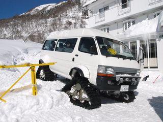 9雪上車②