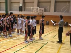 バスケットボール部 表彰式_縮小