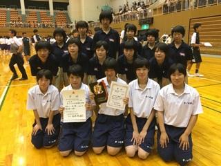 バスケットボール部 県総体 集合写真_縮小