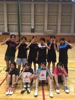 県新人選手権大会団体縮小